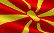 Постер, плакат: Macedonian flag