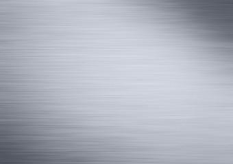 Glänzende Alu Oberfläche