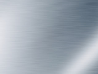 Glänzende Metall Fläche