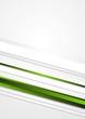Elegant green stripes vector background