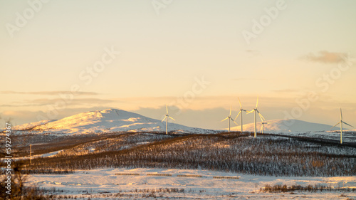Wind turbines in the Arctic