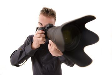 Telephone Lens