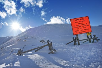 Avalanche Blasting