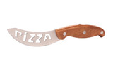 Knife for cutting pizza.