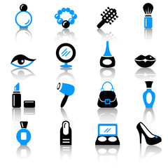 Lady's dream icons