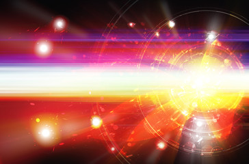 abstract energy explode background