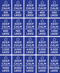 Keep calm and thanks for likes