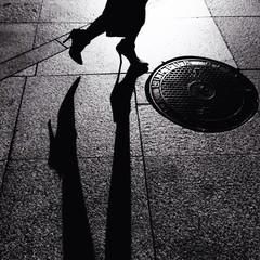 chasing shadow