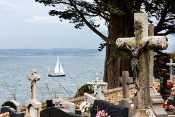 Cimetière du bord de mer (Douarnenez, Finistère)