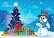 Christmas snowman theme image 4