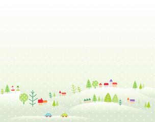 겨울배경 1