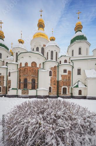 St.Sophia Cathedral. 11th century. Kiev. Ukraine.