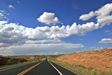 the painted desert road, Arizona