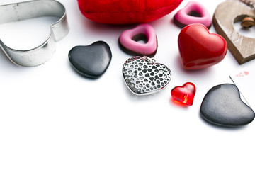 various types of valentine hearts