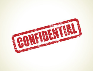 set of confidential stamps