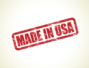 red made in the usa stamp