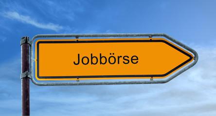 STrassenschild 8 - Jobbörse
