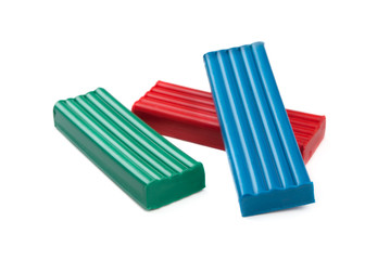 Plasticine blocks