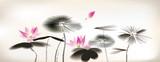 Fototapety waterlily painting