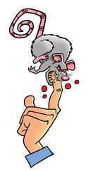 Mad white lab rat