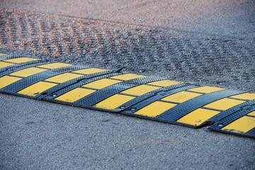 Bumps on the asphalt