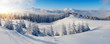 Panorama of winter mountains - 59290341