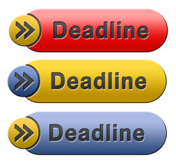 deadline button
