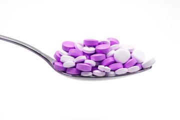 píldoras cuchara