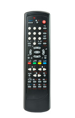 TV remote isolated