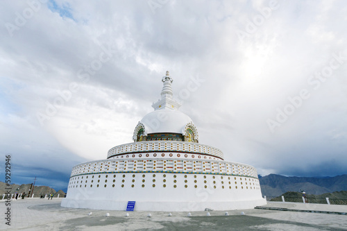 Shanti Stupa at Leh, Laddakh