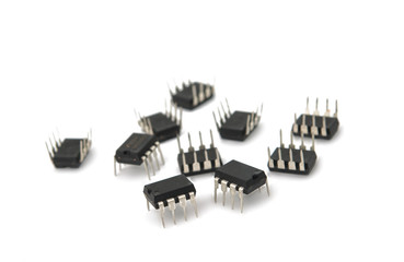 TV chips isolated