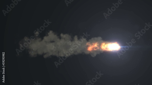 rocket fire light