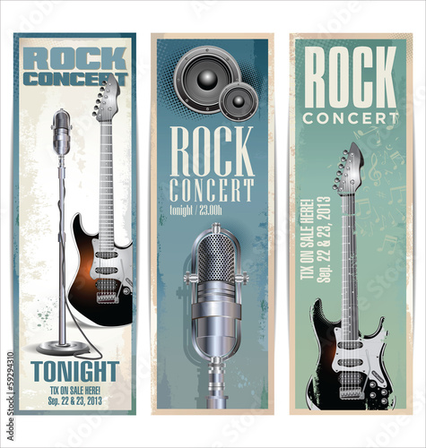 Rock music poster © totallyout