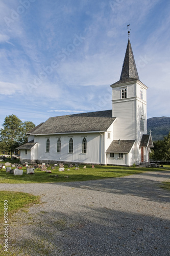 White Wooden Church