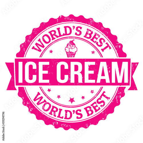 Ice cream stamp