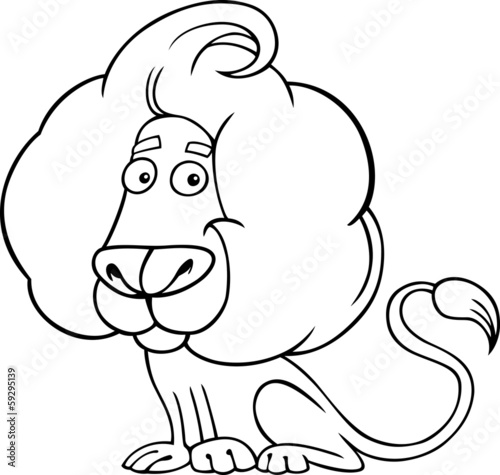 Leo The Lion Coloring Pages Leo or Lion Coloring Page