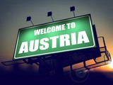 Welcome to Austria Billboard at Sunrise.