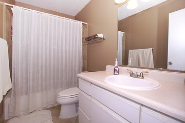 Close up picture of a Bathroom Interior