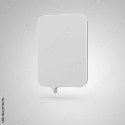 Big Banner - vertical white