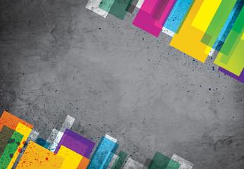 Béton coloré - Colorful concrete