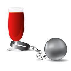 wine and shackles