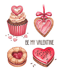 Valentine's Day illustrations collection