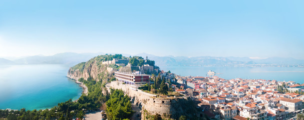City of Nafplion and Bourtzi fortress