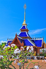 Wat Ban Den in Maetang district, Chiangmai province of Thailand