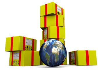 Всемирные почтовые отправления. Концепция