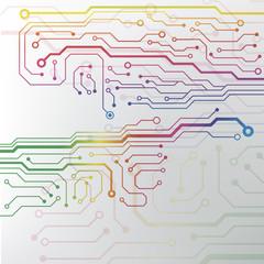 technology hi-tech circuit board texture