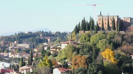 VERONA ITALY - Panorama of Verona
