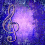 treble clef music