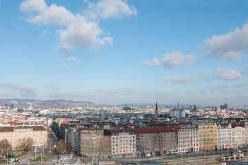 Wien Vogelperspektive
