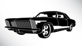 US american muscle car
